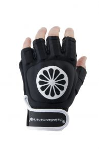 Glove shell half finger [left] - black