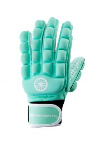 Glove foam full finger [left] - mint