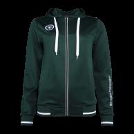 Tech Hooded Women - green