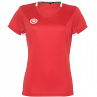 Tech Tee Girls - red