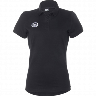 Pique Polo Shirt Women - black
