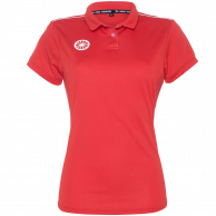Tech Polo Women - red
