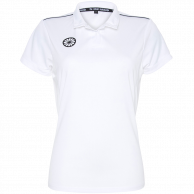 Tech Polo Women - white