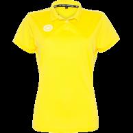 Tech Polo Girls - yellow
