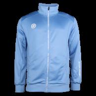Men Jacket Poly Terry - blue