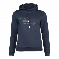 Women Hooded Sweat Block - navy