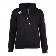Women Hooded Sweat Stretch - black
