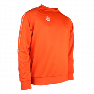 Men Sweater Poly Terry - orange