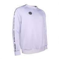 Men Sweater Poly Terry - white