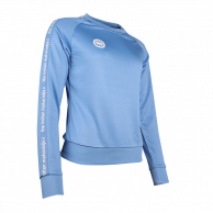 Women Sweater Poly Terry - blue