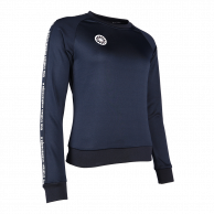 Women Sweater Poly Terry - navy