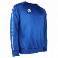 Men Sweater Poly Terry - cobalt