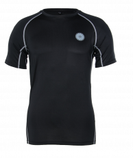 Men's First Layer Compression Tee - black