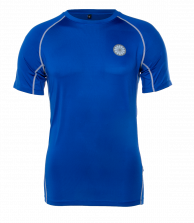 Men's First Layer Compression Tee - cobalt